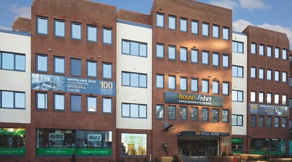 100 Kings Road, Reading Serviced Apartments