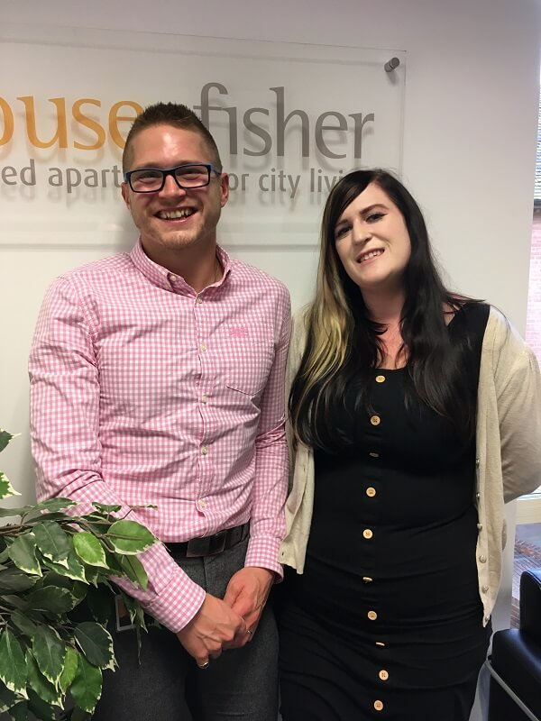 Edd and Steph from House of Fisher NVQ pass
