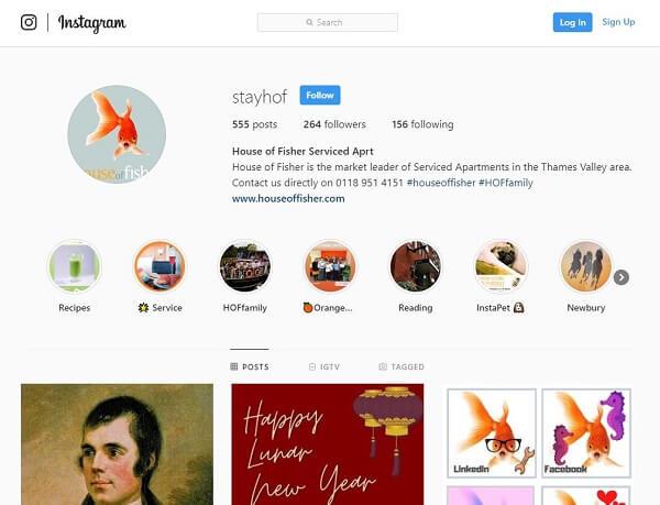 HOF Instagram