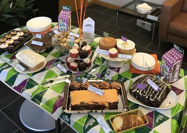 Theale Court Cakes from House of Fisher for Macmillan 2017