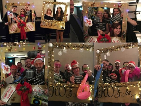 Fun Photos at House of Fisher Christmas Party 2017