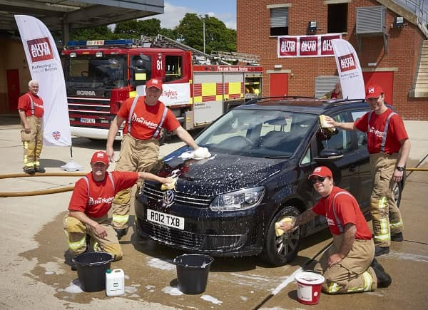 The Fire Fighters Charity work hard to raise donations