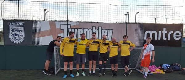 House of Fisher Summer Football Match 2017 Winning Team