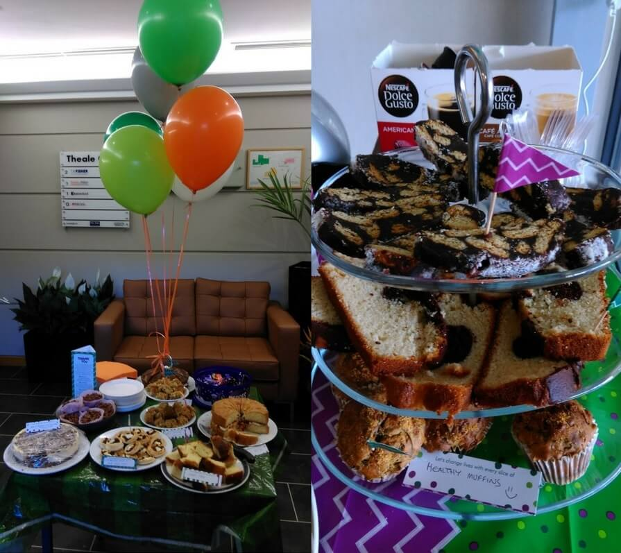 House of Fisher Macmillan Coffee Morning 2016_100 Kings Road & Theale Office Cakes