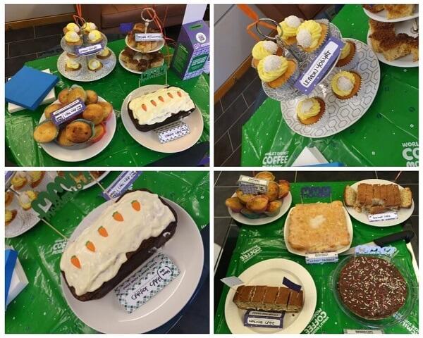 Theale Court Macmillan Coffee Morning Cakes 2019