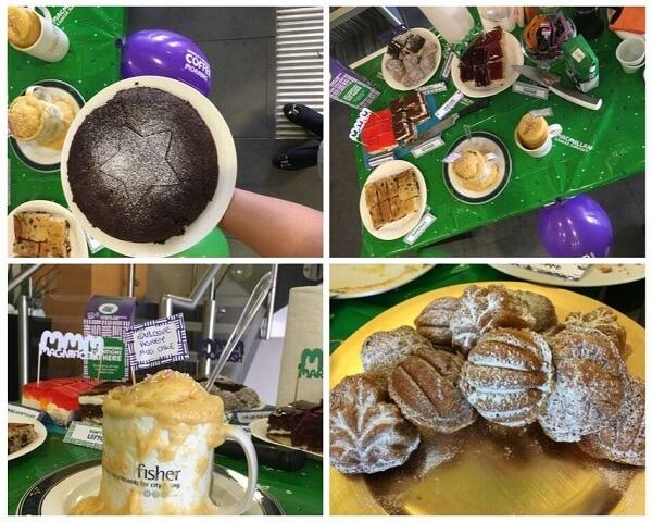 100 Kings Road Macmillan Coffee Morning Cakes 2019