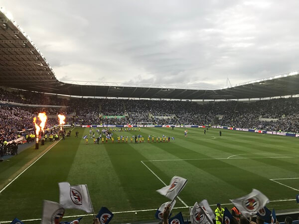 Reading FC enter the pitch for play-off final 2017