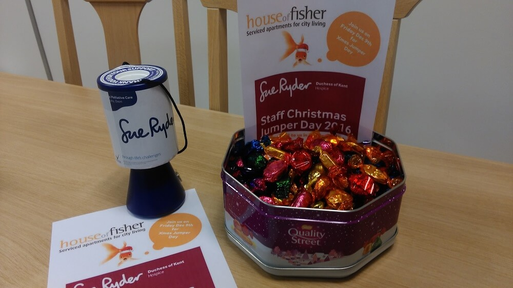 Chocolates to raise additional donations for Sue Ryder