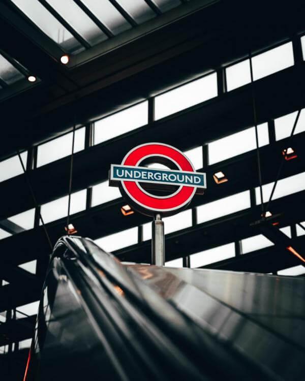 Reading on the London Underground map
