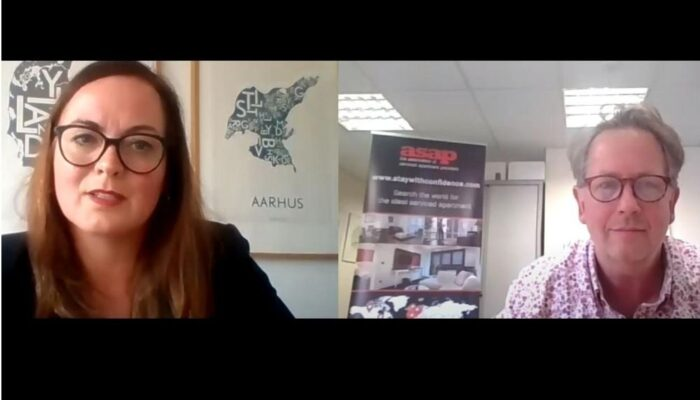 Trine Ostergaard interviewed as part of ASAP Industry Leaders