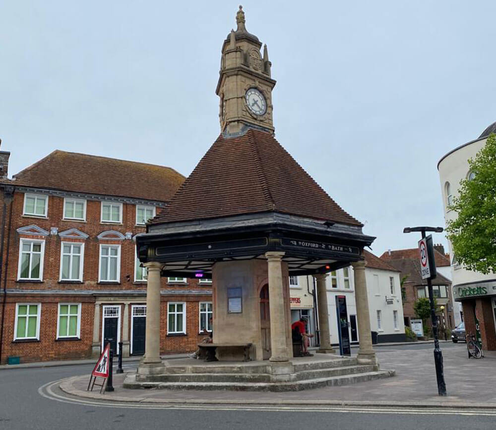 newbury clock tower