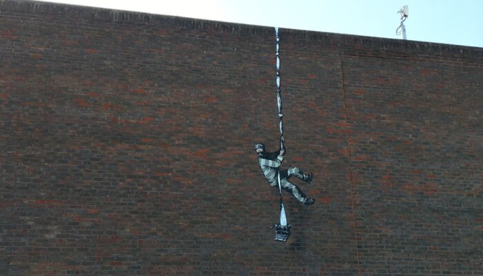 Banksy Escapes from Reading Prison