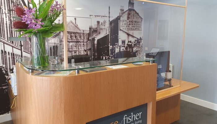 House of Fisher Covid Safe Reception