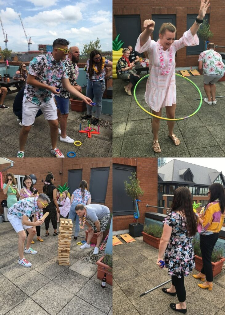 Games Galore at House of Fisher Summer Party 2021