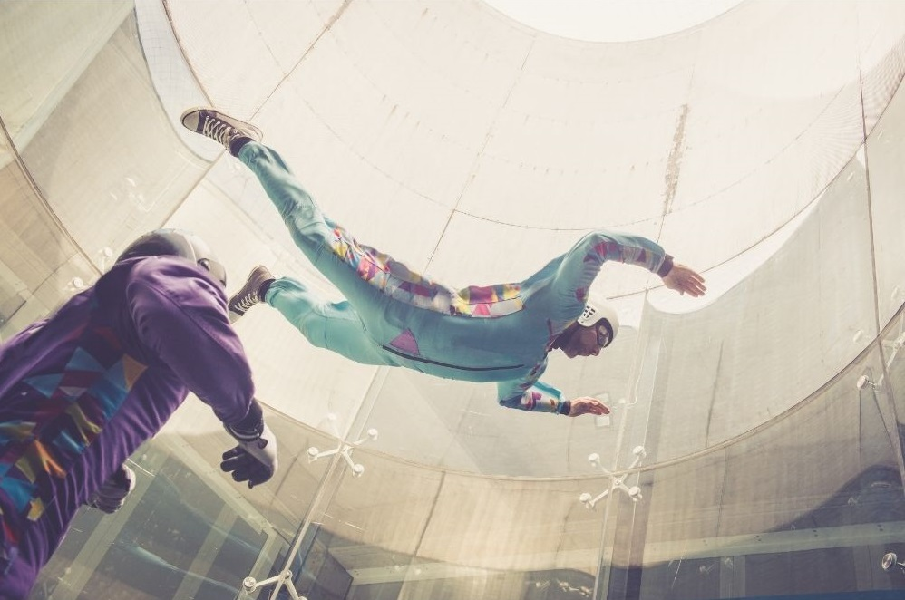 Take flight at iFLY Indoor Skydiving