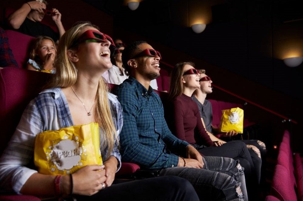 Grab your popcorn and watch a film at ODEON Luxe