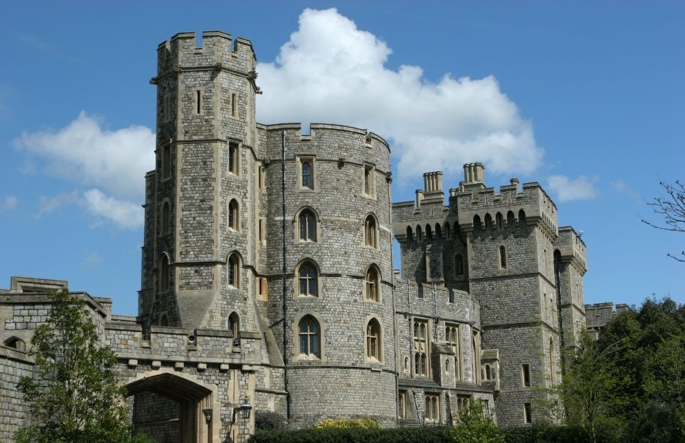 Explore the grounds at Windsor Castle