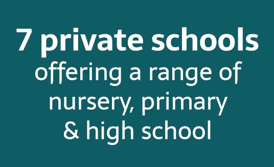 7 private schools